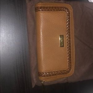 Michael Kors Cinnamon Zipper Wallet